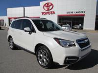 Recent Arrival! 2017 Subaru Forester 2.5i Touring 2.5L