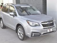 Just Arrived. Touring Forester, Certified, with only 7k