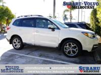 LOW MILEAGE 2017 SUBARU FORESTER TOURING AWD**ONE