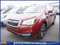 2017 Subaru Forester Venetian Red Pearl 2.5i Touring