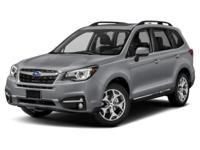 2017 Subaru Forester 2.5i Touring. All Wheel Drive!