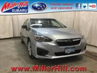 2017 Subaru Impreza 2.0i AWD ready to go! With features