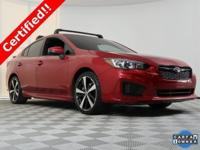 2017 Subaru Impreza with only 31024 on the odometer,