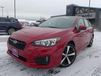 Options:  2017 Subaru Impreza 2.0I Sport|Red|New