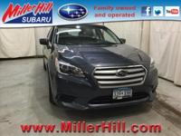 2017 Subaru Legacy 2.5i Premium AWD ready to go! One of