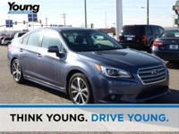2017 Subaru Legacy 3.6R Limited ALL-WEATHER PACKAGE,