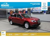 CARFAX One-Owner. Clean CARFAX. Red 2017 Subaru Outback
