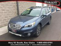 Certified. 2017 Subaru Outback 2.5i Limited Twilight