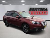 2017 Subaru Outback Red 2.5i Limited Rear Backup