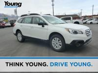 2017 Subaru Outback 2.5i White New Price! Clean CARFAX.