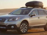 EPA 32 MPG Hwy/25 MPG City! Outback trim. Bluetooth