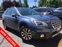 CARFAX 1-Owner. Moonroof, Heated Leather Seats, Power