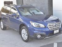 Options:  2017 Subaru Outback 2.5I|Blue|Carfax