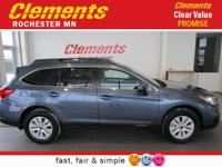 Options:  2017 Subaru Outback 2.5I Premium|Roof - Power