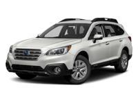 2017 Subaru Outback Lbp 2.5i 32/25 Highway/City MPG