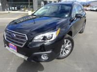 Options:  2017 Subaru Outback 2.5I|Black|4.111 Axle