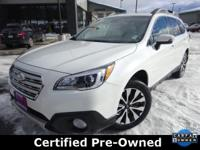 Options:  2017 Subaru Outback 3.6R|White|Priced Below