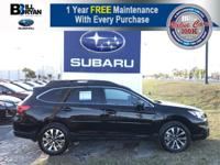 The rugged and ultra-versatile 2017 Subaru Outback