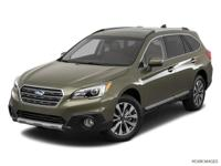 New Price! Clean CARFAX. Lapis Blue 2017 Subaru Outback