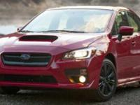 CARFAX 1-Owner, Excellent Condition. WRX trim, Pure Red