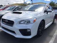 Check out this 2017 Subaru WRX Base. Its Manual