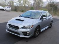 WRX Limited, 4D Sedan, 2.0L DOHC Intercooled