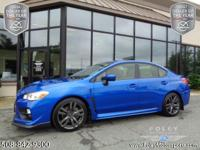 2017 Subaru WRX Premium Sedan... WR Blue Pearl on