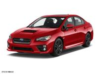 Buckle up for the ride of a lifetime! This 2017 Subaru