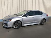 CARFAX 1-Owner, GREAT MILES 22,749! STI Limited trim.