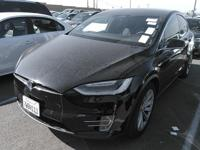 This 2017 Tesla Model X 4dr features a 0.0 ELECTRIC
