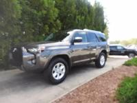 We are excited to offer this 2017 Toyota 4Runner.