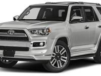 2017 Toyota 4Runner Limited SAVE AT THE PUMP!!! 21 MPG