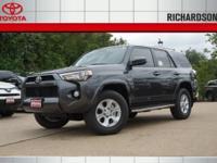 2017 Toyota 4Runner SR5  Options:  3.727 Axle Ratio 17