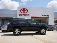 4WD and Cloth. Join us at Supreme Toyota! SUV buying