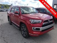 Recent Arrival! 2017 Toyota 4Runner Limited 4.0L V6