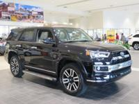New Arrival! This 2017 Toyota 4Runner Limited  will
