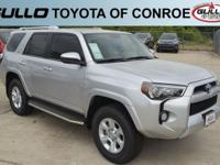 Silver 2017 Toyota 4Runner SR5Let the team at Gullo