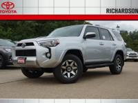 2017 Toyota 4Runner TRD Off-Road 4WD.  Options:  3.727
