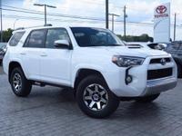 New Arrival! 4-Wheel Drive. This 4Runner  has many