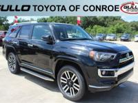 Black 2017 Toyota 4Runner Limited  Let the team at