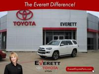 Recent Arrival! 2017 Toyota 4Runner Limited Blizzard