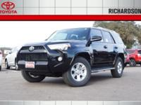 PRICED TO SAVE YOU TIME AND MONEY!! 2017 Toyota 4Runner