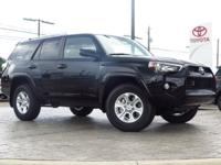 New Arrival! This 4Runner  has many valuable options!