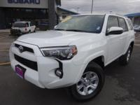Options:  2017 Toyota 4Runner Sr5|White|Recent Arrival!