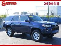 Nautical Blue Metallic 2017 Toyota 4Runner SR5 4WD