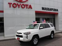 New Price! Certified. Wh 2017 Toyota 4Runner 4WD
