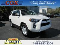 This 2017 Toyota 4Runner SR5 Premium in Super White is