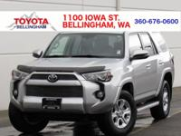 ONE OWNER * PURCHASED NEW FROM TOYOTA OF BELLINGHAM *