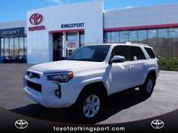 Options:  2017 Toyota 4Runner Sr5 Premium|White|2017