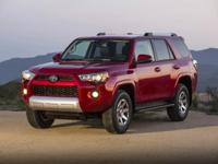 Black 2017 Toyota 4Runner TRD Off-Road Premium 4WD